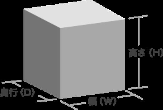 筐体のサイズ01